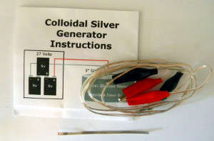 Colloidal Silver Generator Kit