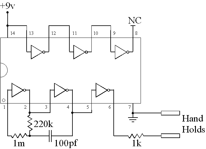 Zapper Schematic Diagram